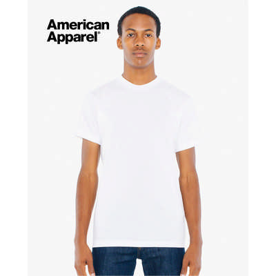 American Apparel Unisex Poly-Cotton Short Sleeve Tee